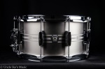 "Ludwig Standard Etched 7""x14"" Stainless Steel Snare Drum LSTLS0714"
