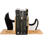 Fender® Strat Body Bookends, Black 9124782000