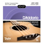 D'addario GS Mini Bass EXP .037-.090 Acoustic Coated EXPPBB190GS