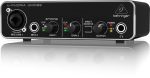 Behringer 2X2 USB 2 audio/midi interface 28K midas mic pre UMC22