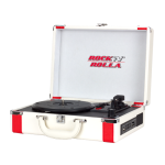 RocknRolla Premium Rechargeable Portable Briefcase Turntable RNRP