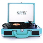 RocknRolla Rock N Rolla Junior Portable Briefcase Turntable RNRJR