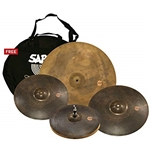 "Sabian XSR5005M Monarch XSR Cymbal Box Set 15"" Hi Hats 17"" 19"" Crash & 22"" Ride"