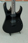 Ibanez RG Genesis Fixed Bridge Electric Guitar, Black RG521-BK