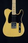 Fender American Original '50s Telecaster Electric Guitar, Blonde, Hardcase 0110132850