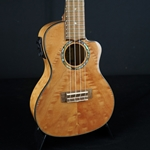 Lanikai Quilted Maple Cutaway Electric Concert Uke QM-NACEC