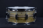Ludwig Raw Brass Phonic 6.5 x 14 Snare drum LB464R