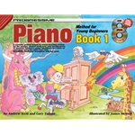 Progressive Piano Method for Young Beginners: Book 1 - CD & DVD