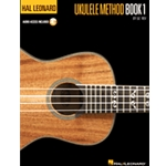 Hal Leonard Ukulele Method1 Book (with Audio Download)