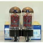 6V6 - JJ Electronics, Apex Matched Pair T-6V6-S-JJ-MP