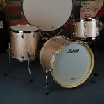 "Ludwig USA Legacy Maple 13"" 16"" 22"" Drum Set, Champagne Sparkle LEGACYMAPLE"