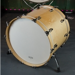"Ludwig Classic Maple 24"" x 18"" Bass Drum Natural Maple LB884XXONWC"