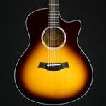 Taylor 416ce Summer NAMM Exclusive Grand Symphony Acoustic Electric Guitar- Maple/Sitka, Tobacco Sun 416CELTD