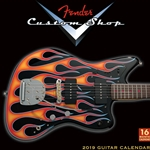 2019 Fender™ Custom Shop Wall Calendar 9123013070
