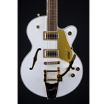 Gretsch G5655TG Limited Edition Electromatic® Center Block Jr., Snow Crest White G5655TG-LTD