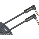 Planet Waves American Stage Instrument Cable, Dual Right Angle, 15 feet PW-AMSGRR-15