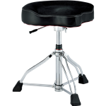 TAMA 1st Chair Drum Throne Glide Rider w/Cloth Top & Hydraulix HT550BCN