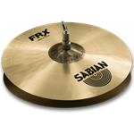 "Sabian FRX1402 14"" FRX Frequency Reduced Hi-Hat Cymbals Pasic Demo"