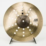 "12"" Sabian AA Mini Holy China Pasic Demo 21216CS"