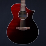 Ibanez AEWC32FM  Acoustic Electric Guitar in Red Sunburst Fade AEWC32FMRSF