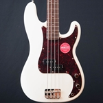 Squier Classic Vibe '60s Precision Bass 4-String Electric Bass Guitar, Olympic White 0374510505