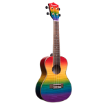 Amahi Rainbow Flamed Maple Concert Ukulele PGUK555C