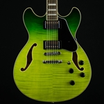 Ibanez AM73FM Green Valley Graduation Artcore Electric Guitar, AS73FMGVG