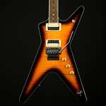 Dean ML79FTBZ – ML '79 Floyd Flame Top, Transparent Brazilia Burst, Electric Guitars