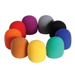 StagePro Foam Microphone Windcreens - Available in colors KBC10M