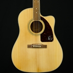 Epiphone AJ-220CE Acoustic/Electric Guitar, Natural Finish EE2SNANH1