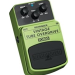 Behringer Vintage Tube-Sound Overdrive Effects Pedal TO800