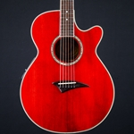 Used Dean PE-TRD Acoustic-Electric Guitar, Trans Red UDPETRD