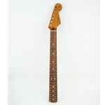 "Fender Roasted Maple Stratocaster Neck, 21 Narrow Tall Frets, 9.5"", Pao Ferro, C Shape  0990503920"