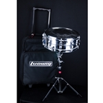 Used Ludwig Student Snare Kit, Snare, Stand, Pad & Carry Bag USDKIT