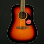 Fender CD-60 Dreadnought V3 Sunburst Acoustic Guitar with Hard Case 0970110232