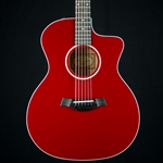 Taylor 214CE Red Grand Auditorium Deluxe Acoustic Electric 214CE-RED-DLX