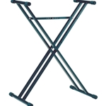 K&M Double Braced Keyboard Stand 18963.071.55