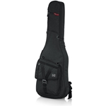 Gator Transit Series Electric Guitar Gig Bag with Charcoal Black Exterior GT-ELECTRIC-BLACK