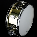 "Dw Used DW Collector's Series Brass 5 1/2"" x 14"" Snare Drum DWCSBRASS"