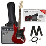 Squier HSS Stratocaster Package Packages (Guitar & Amp) 0371824009