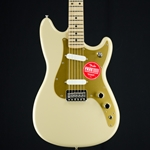 Fender Player Duo Sonic, Maple Fingerboard, Desert Sand Electric Guitar 0144012589