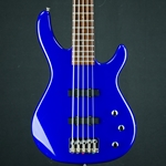 Used Squier MB-5 5-String Bass Guitar USQUIERBASSBLUE