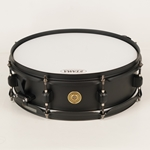"Tama Metalworks Snare Drum - 4"" x 13"", Flat Black, Piccolo Snare BST134BK"