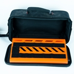 "Used Gator Small Pedalboard with Bag - 15.75""x7"" Orange GPB-LAK-OR UGPC"