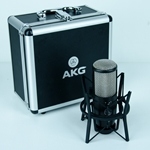 Akg Used AKG P420 Condenser Microphone, Shock Mount, Case UAKGP420