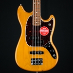 Fender Player Mustang Bass PJ, Pau Ferro, Aged Natural  0144053528
