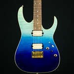Ibanez 6-String RG High Performance Electric Guitar - Hard Tail (Blue Reef Gradation), RG421HPFMBRG