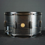 Tama WP148BKBOW Woodworks Snare Drum 8x14 (Black Oak Wrap)
