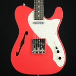 2019 Fender Limited Edition Two-Tone Thinline Telecaster, Ebony Fingerboard, Fiesta Red 0176203740
