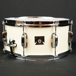 "Tama 6.5"" x 14"" Superstar Classic Snare Drum in Lacquer Finish -  Satin Arctic Pearl (SAP) CLS1465SAP"